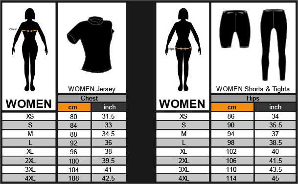funkier-sizechart-women