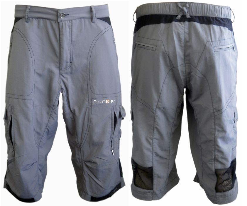 Funkier Funkier Baggy Cycling Shorts B 3208