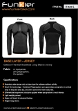 funkier - Long sleeve seamless base Jersey for men -JS-640-L