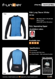 funkier - Long Sleeve Jerseys  for kids - J-611K-LW